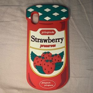 Strawberry IPhone XR Silicone Case